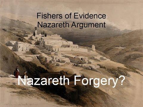 Nazareth Forgery? Did Jesus Exist?