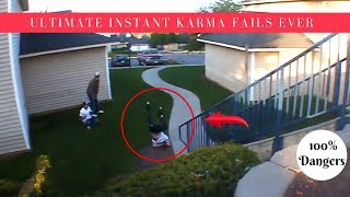 ULTIMATE INSTANT KARMA FAILS EVER - 100% Dangers