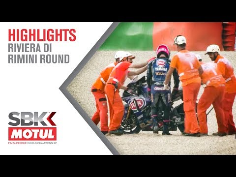 Lowes OUT at Race 1   Riviera Di Rimini Round 2019   WorldSBK