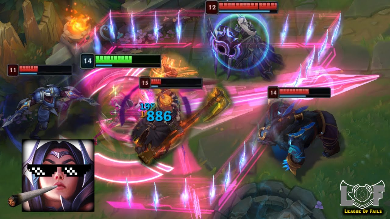 LoL Funny and Best Moments 2020 (1v5 Pentakill, 200IQ, Outplays..)