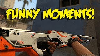 CS GO FUNNY MOMENTS - INHUMAN NO SCOPE 1 v 4 CLUTCH , NO ZOOMS , PRO FLASHBANGS (Funny Moments)
