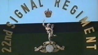 22 Signals Regiment Disbandment Parade, Lippstadt Germany. 19th September 1992.