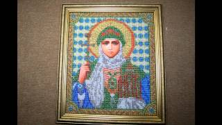 Самарская Багетная Мастерская - Вышивка(Оформление иконы бисером в двойной багет., 2013-10-20T17:32:17.000Z)