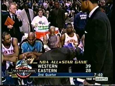 NBA All Star game 2001 Tranquillo Buffa