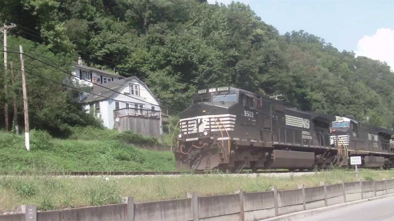 Norfolk Southern Empty Coal Train Iaeger West Virginia