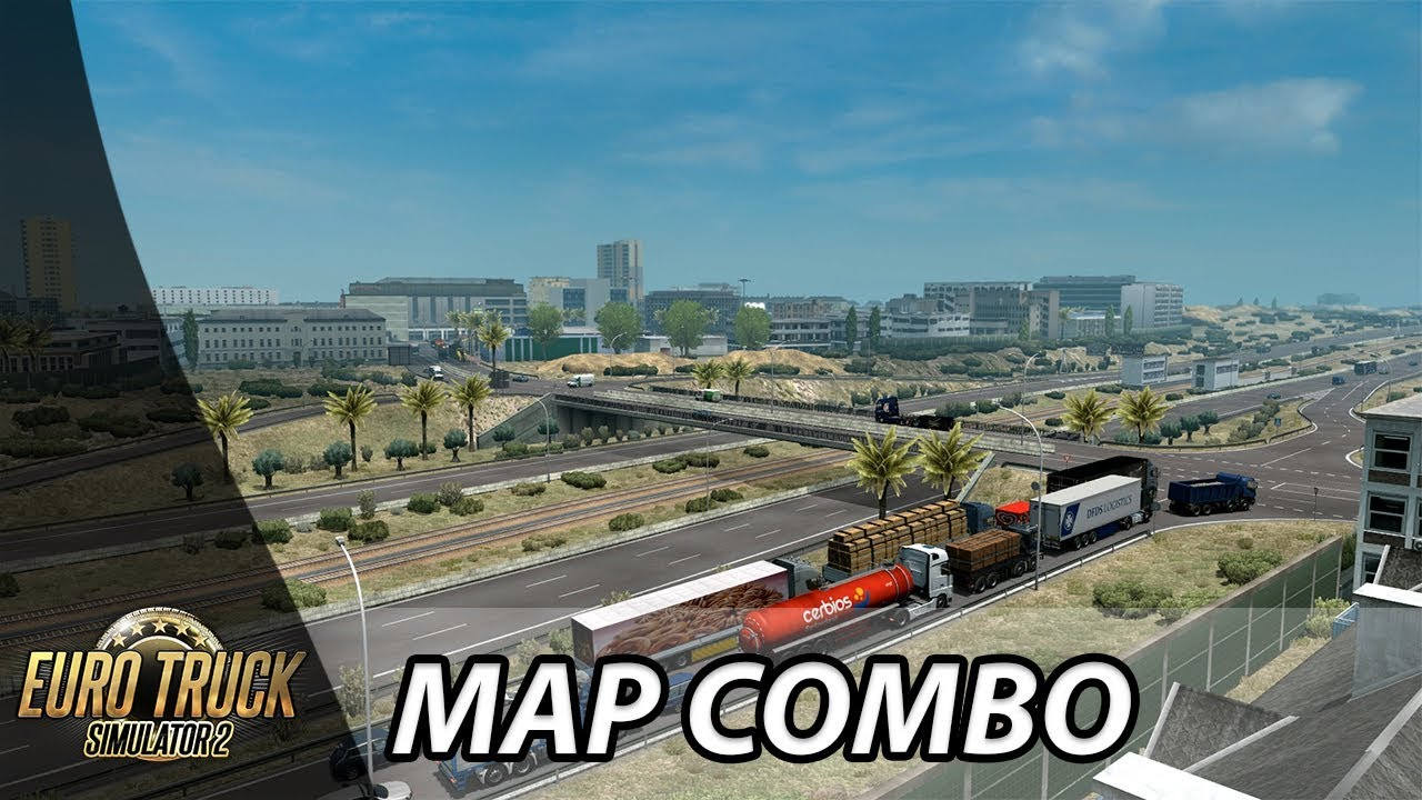 ETS2 1 35 | ProMods 2 41 | Map Combo (UPDATE)