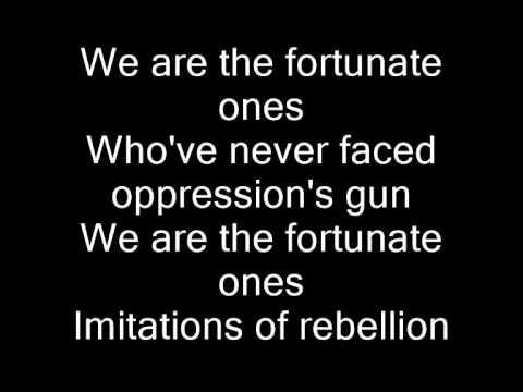 Linkin Park: Rebellion (Lyrics)