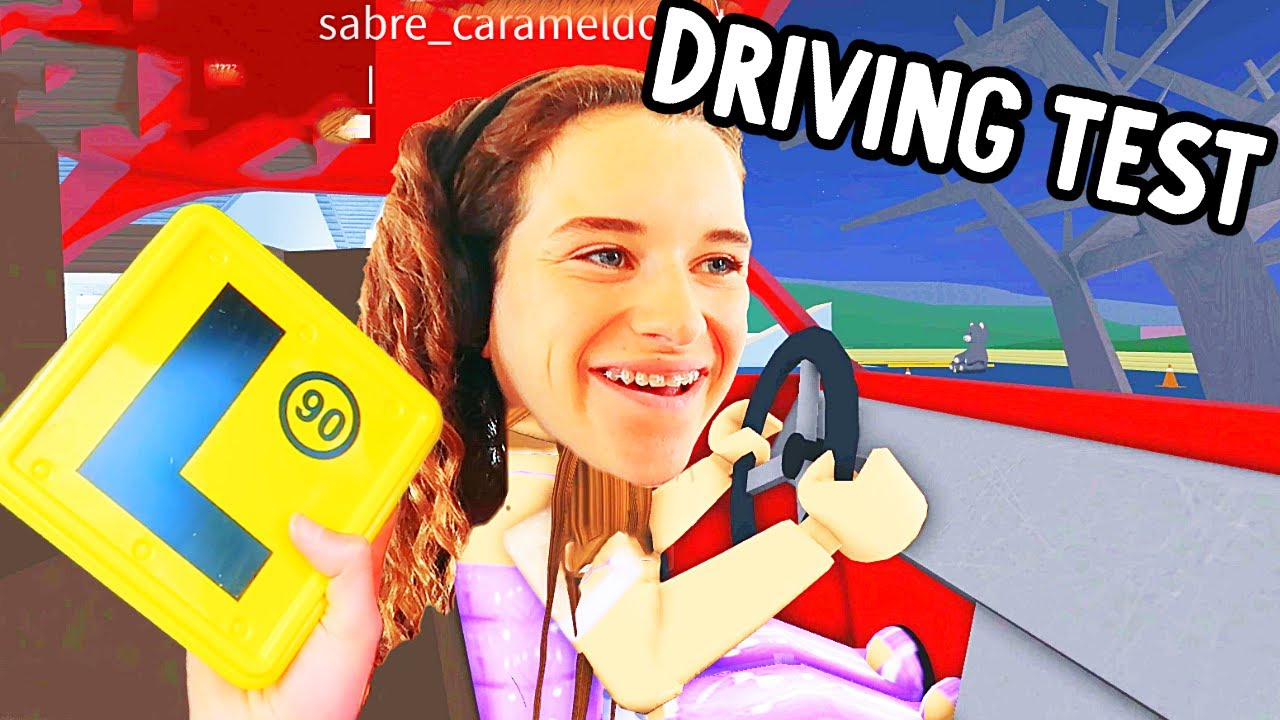 SABRE'S DRIVING TEST in BloxBurg (Hilarious) Gaming w/ The Norris Nuts