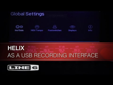 Using Helix As A USB Recording Interface | Line 6