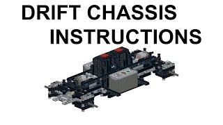 LEGO Technic Super Drift Car Building Instructions / Інструкція до дрифтовому шасі