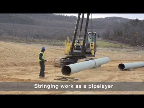 Convert a Volvo pipelayer PL3005D to an excavator
