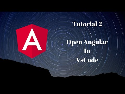 Tutorial #2 | Open Angular Project in VsCode | Learning while making Projects| thumbnail