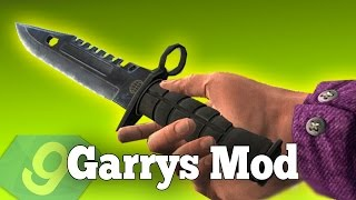 Gmod KNIFE Weapon Pack Mod! (Garry