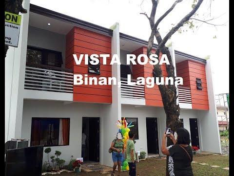 VISTA ROSA Binan Laguna House and Lot Sale