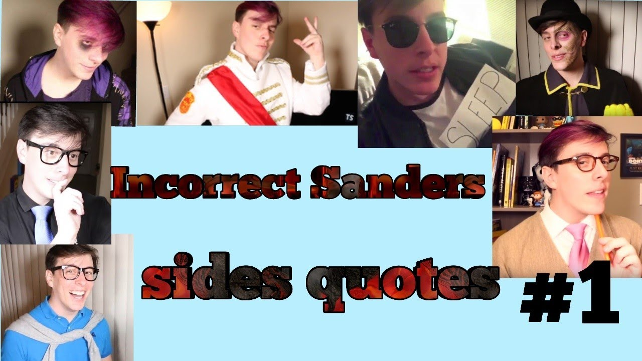Incorrect Sanders Sides Quotes - Youtube-8021