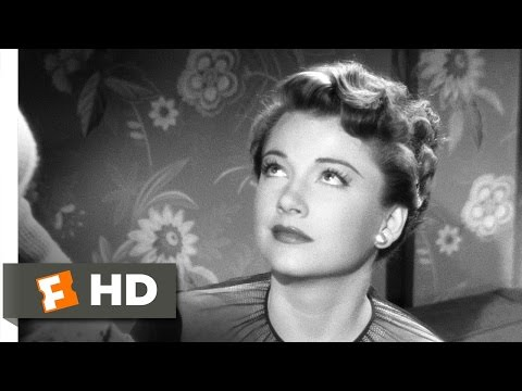 All About Eve 45 Movie CLIP  Eve Blackmails Karen 1950 HD