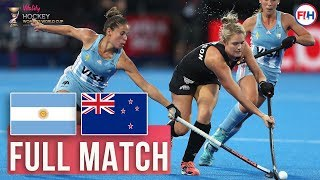 Argentina v New Zealand | Womens World Cup 2018 | FULL MATCH