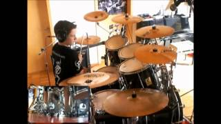 Amon Amarth - Deceiver of the gods - Drum cover | Little drummer boy