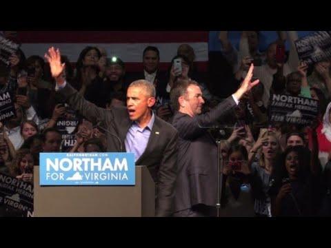 Obama volta à arena política