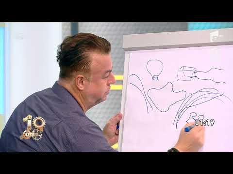 Provocarea zilei! Adrian Enache desenează, Flavia Mihășan ghicește