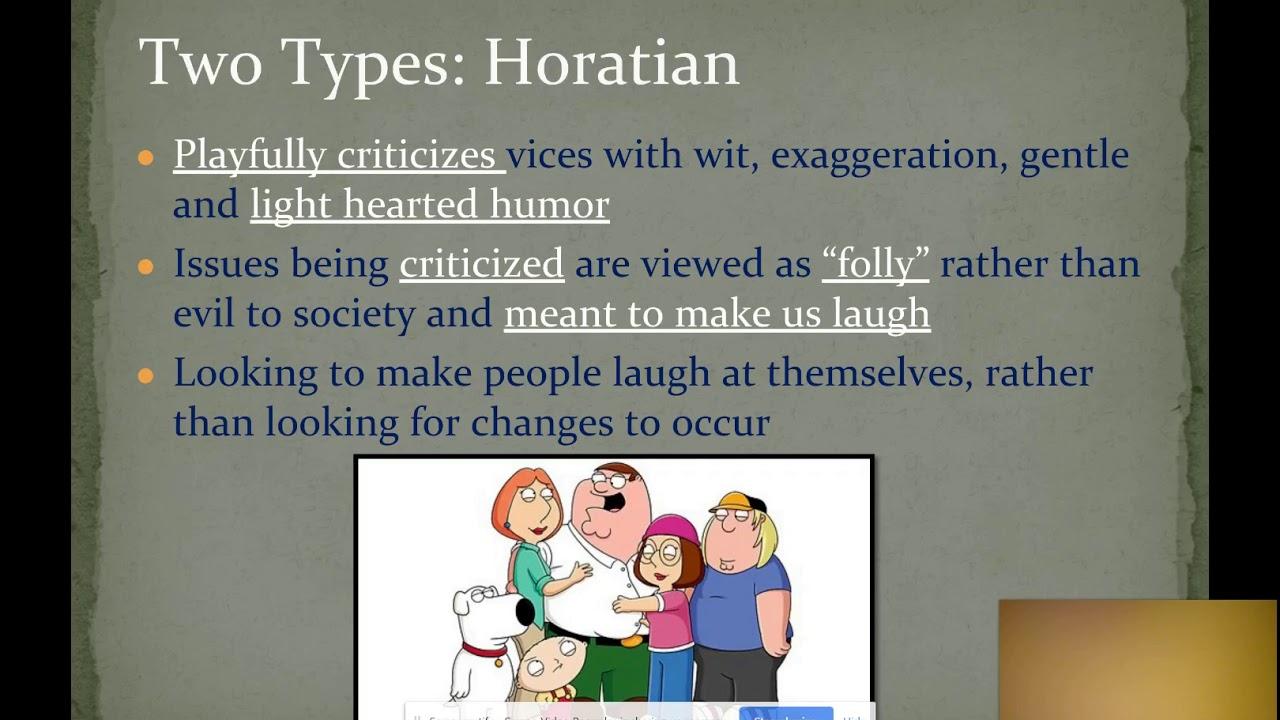 Satire Part 1 Definition Youtube