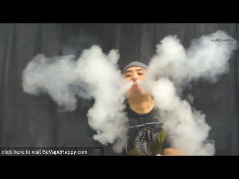 CloudChasing w/ .35 ohm SOAKER build: VAPEHAPPY Vapor Production ...