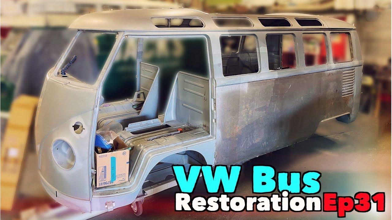 VW Bus Restoration - Episode 31 - Raise the ROOF! | MicBergsma