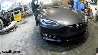 Tesla Model Armaniston yilda Armaniston/Kuzov ta'mirlash avto tana do'konlari S