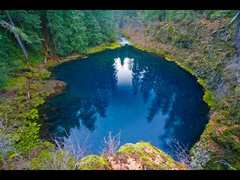 Grant's Getaways: Tamolitch, The Blue Pool by oregon