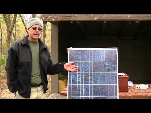 Small solar for the survivalist, prepper, survival retreat, off grid, solar power