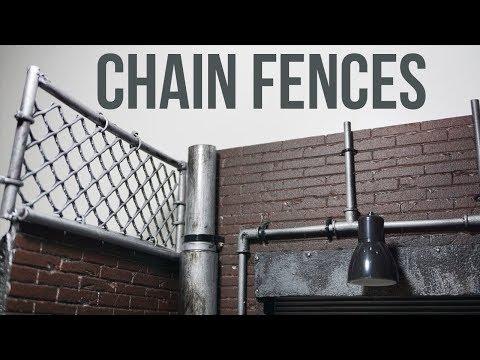 Chain Fences Diorama *Tutorial* EP17