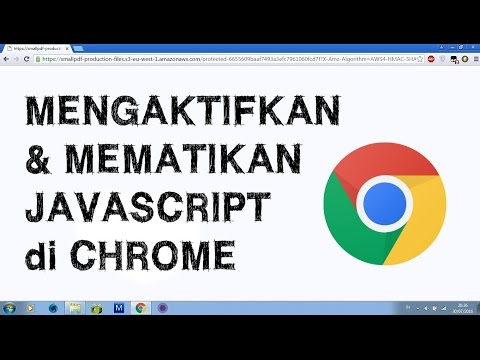 Cara Mengaktifkan Javascript Di Browser Android