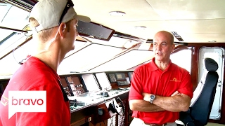 Below Deck Mediterranean: Captain Mark Howard Comes Down on the Crew (Season 1, Episode 3) | Bravo