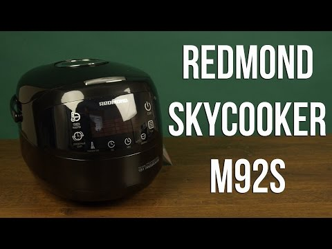 Распаковка REDMOND SkyCooker M92S