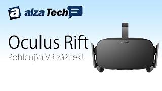 Oculus Rift HD: Recenze očekávaného VR headsetu! - AlzaTech #364