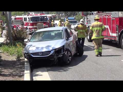 Traffic Collision (MCI) - Lake Forest, California - April 10, 2017
