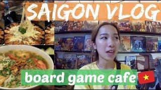 Board Game Cafe in Saigon! Kor…