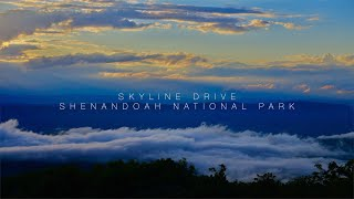 Sunset on Skyline Drive Shenandoah National Park | Our RV Life