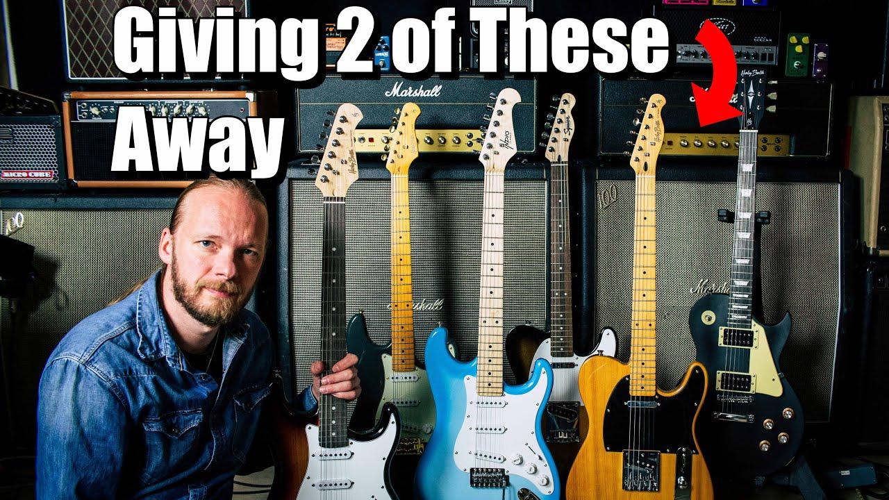 Giving Away TWO Guitars