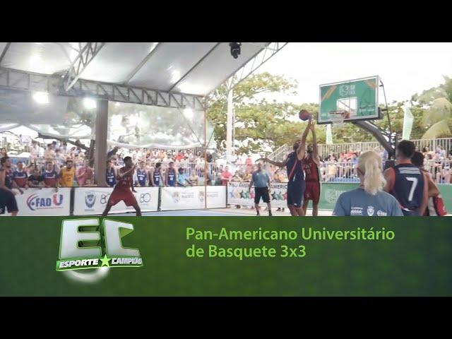 Maceió recebeu o Pan-Americano Universitário de Basquete 3x3