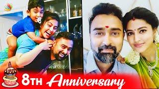 Sneha's 8th Anniversary Celebrations | Tamil Actress, Tamil Celebrity Couple | Tamil News