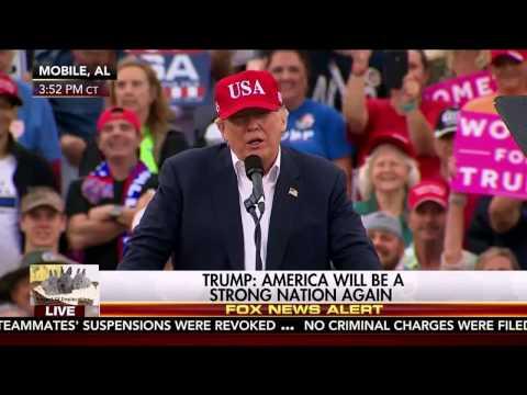 P1 Mobile Alabama President Donald Trump FINAL Thank You Rally Tour Merry Christmas DEC 17 2016 HD
