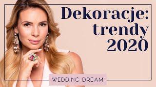 Bierzesz ślub w 2020? Zobacz NAJMODNIEJSZE dekoracje!