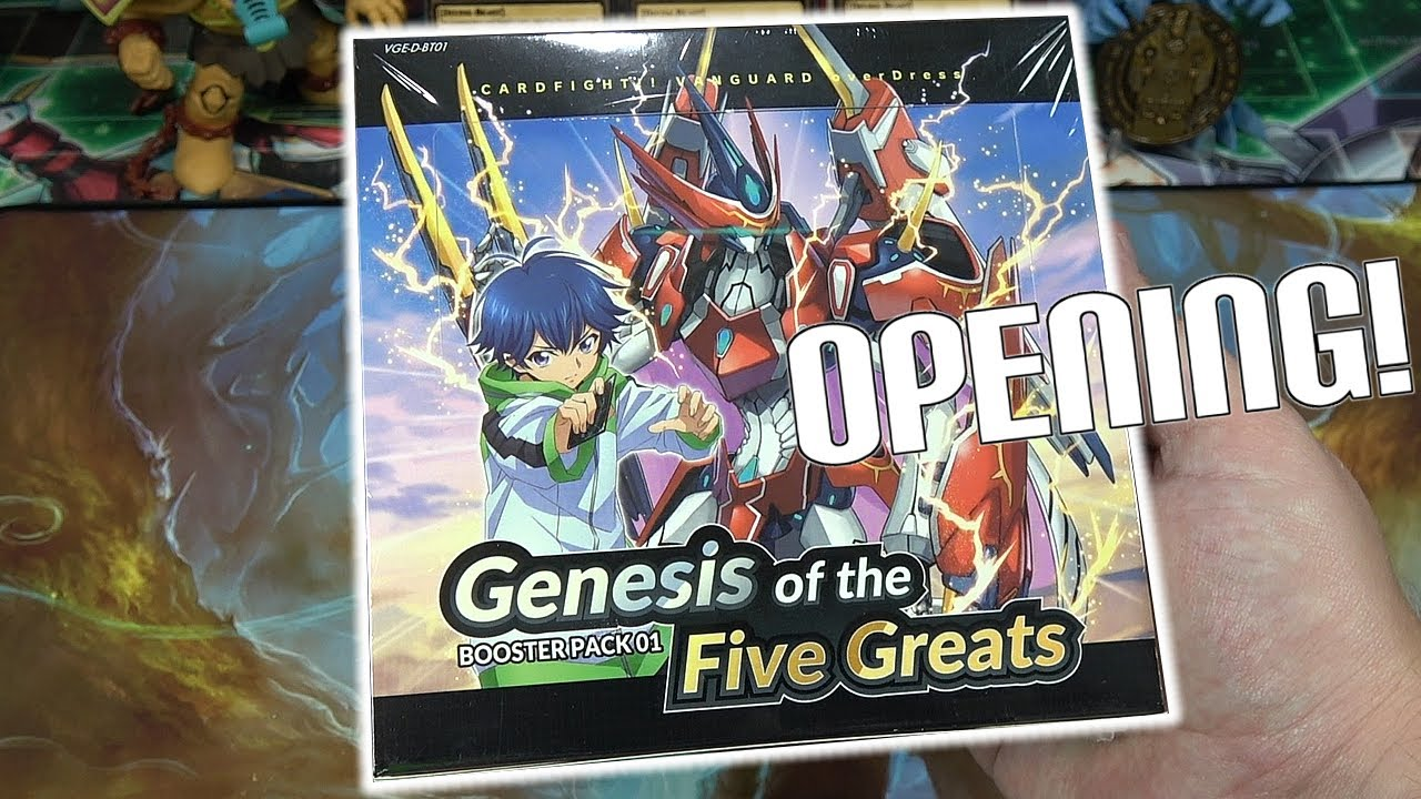 Cardfight Vanguard overDress Genesis of the Five Greats Unboxing