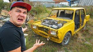 Купили на аукционе автомобиль за 80 тысяч и нашли ее на помойке