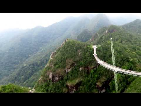 Langkawi (Malaysia): Sky Bridge & Cable Car-660 meters (2,170 ft) above sea