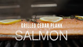 How To Make Grilled Cedar Plank Salmon