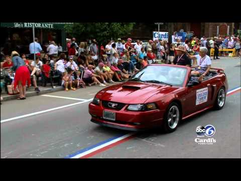 Bristol Rhode Island's Fourth of July Parade 2015