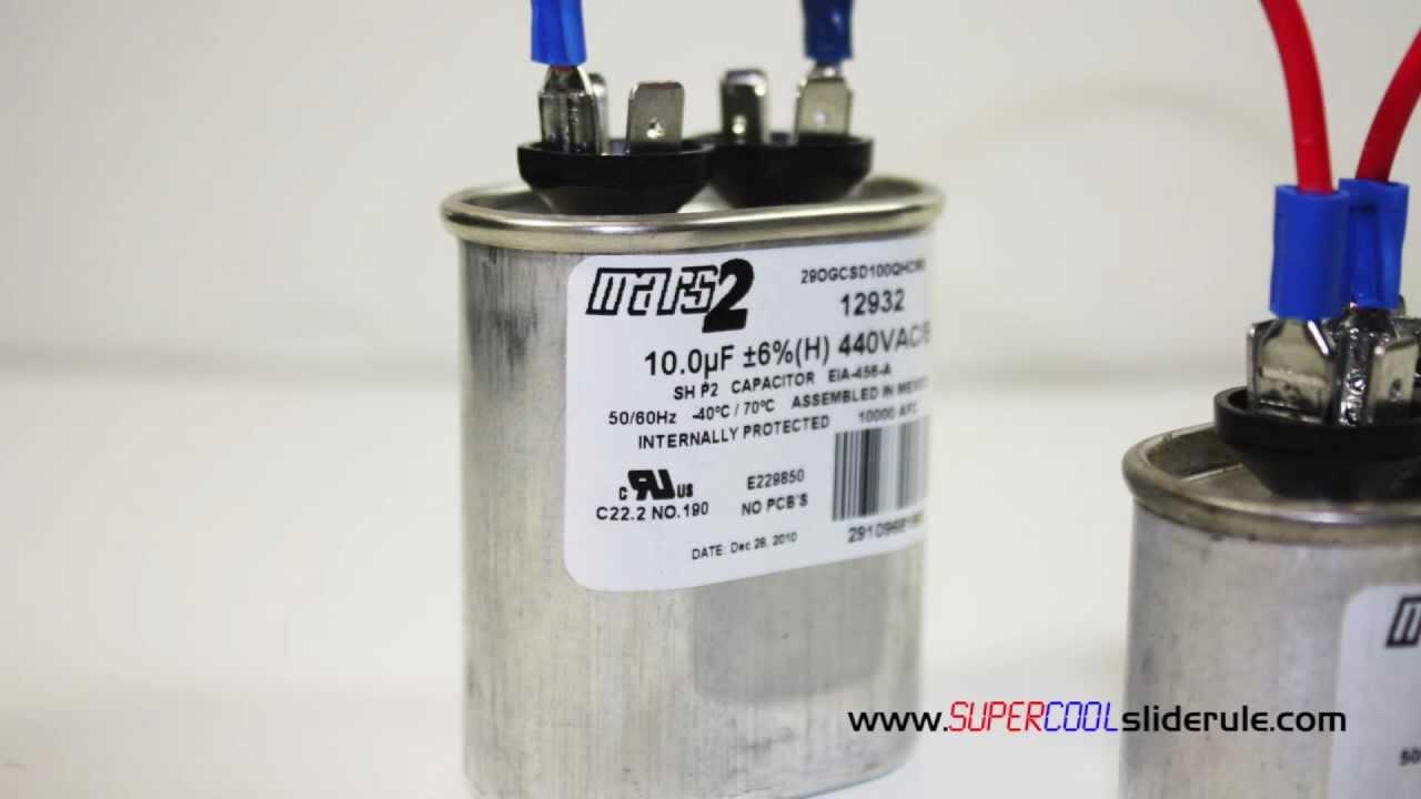 medium resolution of ac capacitor wiring diagram bank