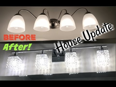 HOW TO INSTALL LIGHT FIXTURES (house update) | Ellarie